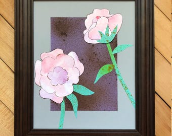 Pink Peonies Wall Art