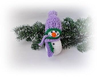 Amigurumi doll snowman Soft Stuffed Crochet Christmas snowman, Home decor, Christmas gifts, Christmas Ornament, christmas decoration