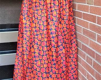 African ankara long skirt