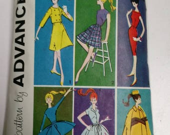1961 Barbie Doll Clothes Patterns