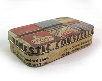 Vintage No. 1 - Repurposed Recycled Upcycled Altoid Tin