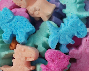 10 MIni Dinosaur Bath Bombs, bath bomb, bath bombs, kids bath bombs, bath bombs for kids, easter basket stuffers, easter, boy