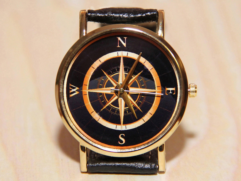 uhren kompass damenuhr herrenuhren uhr armbanduhr mit. Black Bedroom Furniture Sets. Home Design Ideas