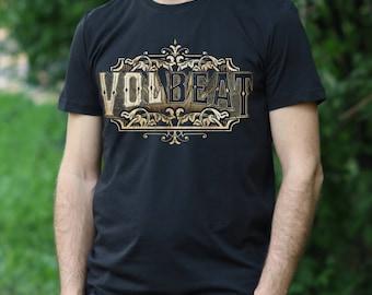 Volbeat T-shirt Lola Montez shirt Volbeat Tshirt mens Shirt Rock Tee Rock Heavy Metal T-shirt Volbeat tshirt