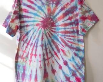 M Spiral Tie Dye T-shirt