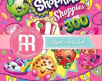 Shopkins & Shoppies Clipart 300 PNG