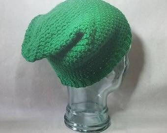 Crochet Link hat from Legend of Zelda