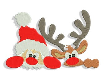 Christmas embroidery design - Machine embroidery design