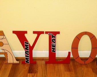 Custom Hand-Painted Themed Letters