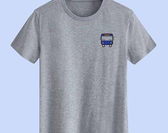 Blue Bus Unisex T shirt,T Shirts For Men,T Shirts For Women,T Shirt For Youth,Street T-shirts Hipster T Shirt Customize Gift T Shirt