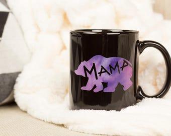 Mama Bear Mugs, Mug for Mom, Mama Bear Design, Mama Bear, New Mom Mug, Mama Bear, New Mom Coffee Mug, Mama Mug, Mama Bear Cup, Mama Gift
