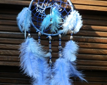 """personalized dream catcher """"Baby boy"""" with name and date"""