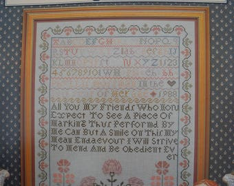 Marking Sampler by Just Cross Stitch - OOP