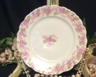 Limoges France Elite Works Dessert/Bread Plate