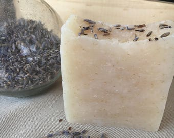 Lavender Oatmeal Handmade Natural Soap