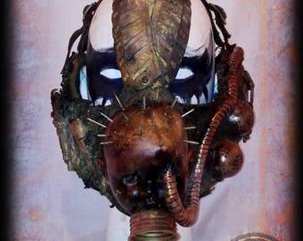 Post Apocalyptic Half mask-Baby pinhead-Wasteland Warrior