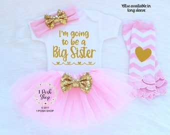 I'm Going to be a BIG Sister, Big Sister Announcement Shirt, New Big Sister, Big Sister Shirt, Big Sister Gift, Big Sister Outfit FBS11