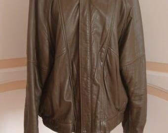 Mans Vintage Lakeland Soft Leather Jacket Size Large