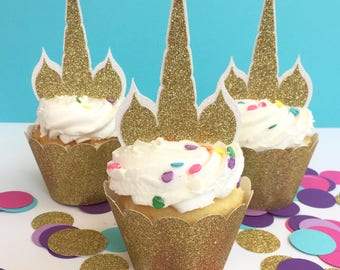 Unicorn Cupcake Toppers, Unicorn Party, Unicorn Cake Topper, Unicorn Party Decor, Unicorn Birthday Party, Unicorn Decorations, Unicorn