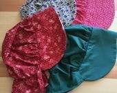 Bonnets Girls Bonnets with Sunshade Baby Girls Little Girls Pioneer Bonnets Costumes Reenactment Sun Bonnet Little House on the Prairie
