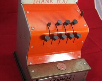 Vintage Kamkap Toy Cash Register