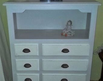 Furniture auxiliary 8 drawers.