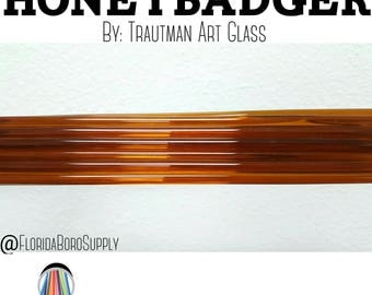 Honey Badger 1st Quality Rods by Trautman Art Glass