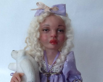 "Tootsie"" Ooak art doll"