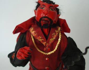"""Damien"""" Ooak devil doll"""