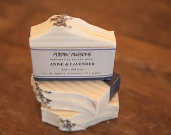 Anise & Lavender Goat's Milk Soap