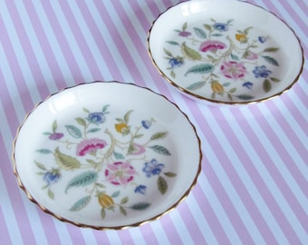 Bone china - Minton small plates - Haddon Hall - 9 cm