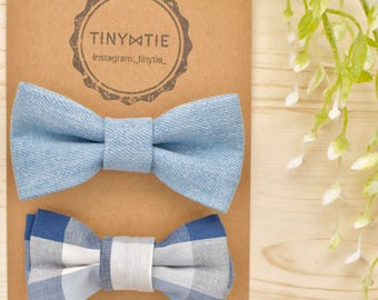Set of 2,Baby boys bow tie.baby bow tie.Fabric bow tie.boys bow tie.Wedding.Birthday.Photo prop.