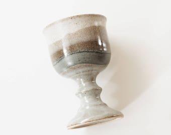 Vintage Ceramic Goblet