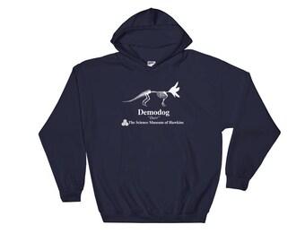 Dustin's Hoodie Stranger Things 2 Demodog Hooded Sweatshirt
