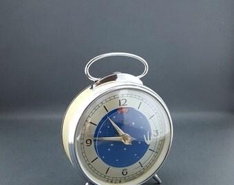 Vintage black Polaris clock