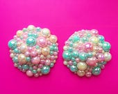 BABY DOLL PASTIES Burlesque, Cute, pretty, pastel, pink, mint, pearl, girly, sweet, sugar, pearls, shiny, bubbles, goth, stripper, costume