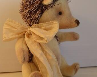 Artist Doll Hedgehog OOAK Hedgehog Artist Hedgehog Artist Toy Hedgehog Handsewn Hedgehog Fantastic Hedgehog Handstitched Hedgehog