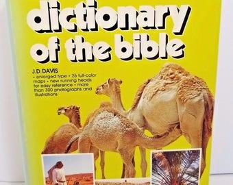 Davis Dictionary of the Bible J.D. Davis