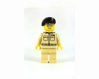 Male IDF Mini-Figure Air-Force - Israeli Air Force - Jewish Custom Lego® Set from JBrick