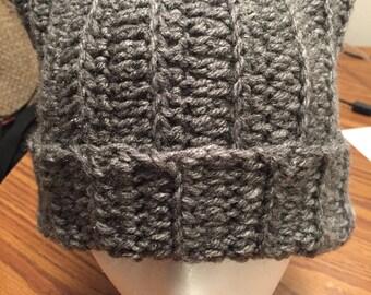 Gray Cat ears hat