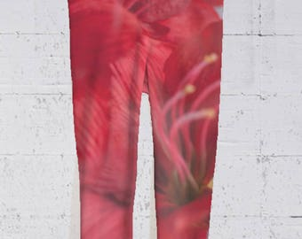 Capri Pants, Leggings, Women's Apparel, Gym Clothes, Stretch Pants, Gifts for Her