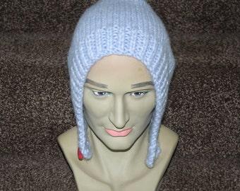 Pixie peak slouchy beanie hat