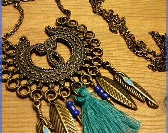 """Necklace """"the bronze age"""""""