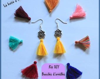 "DIY kit ""earrings""ZEN""color choice"