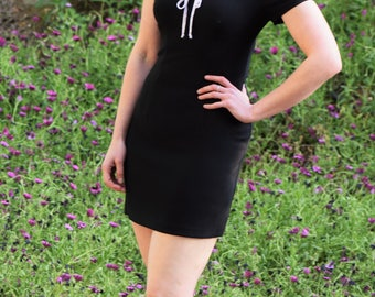 Vintage 90s All that Jazz baby-doll dress