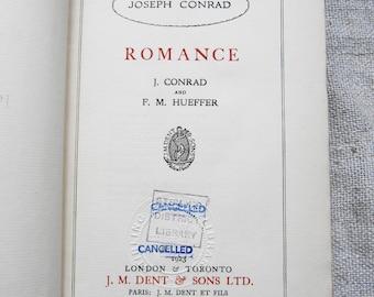 Joseph Conrad and Ford Madox Hueffer: ROMANCE - First edition RARE