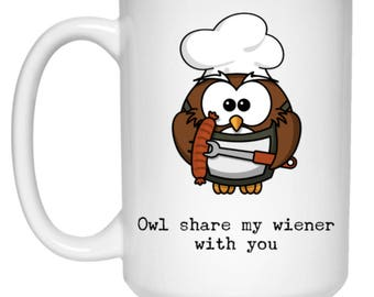 Owl And Coffee Etsy