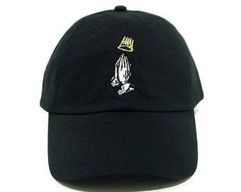 J cole praying Hands Hat