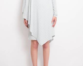 Bamboo dress asymmetrical