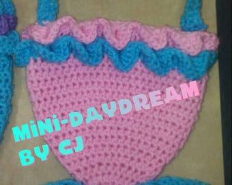 Mini-Daydream Mermaid Tail Purse
